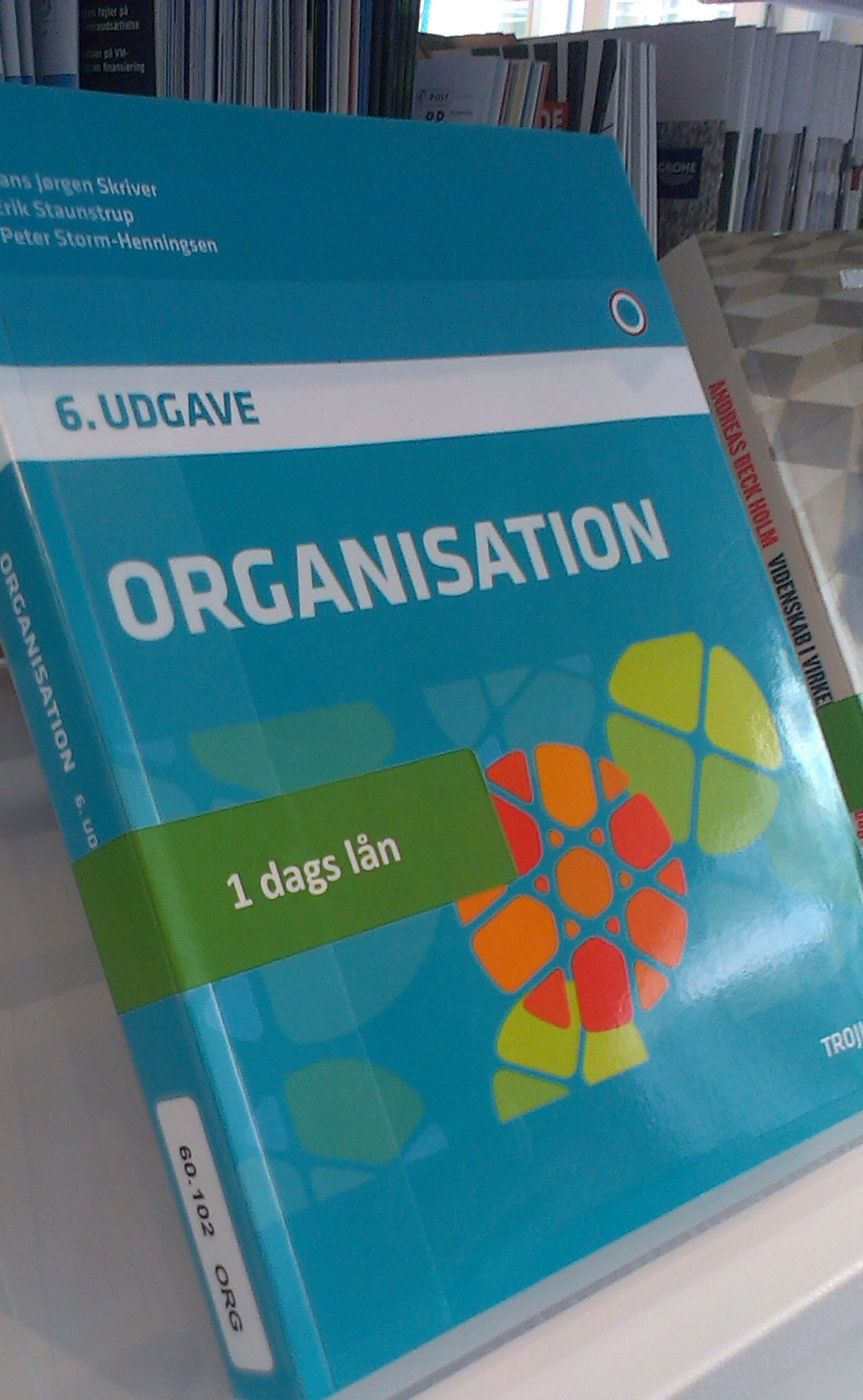 1 dags lån - Organisation