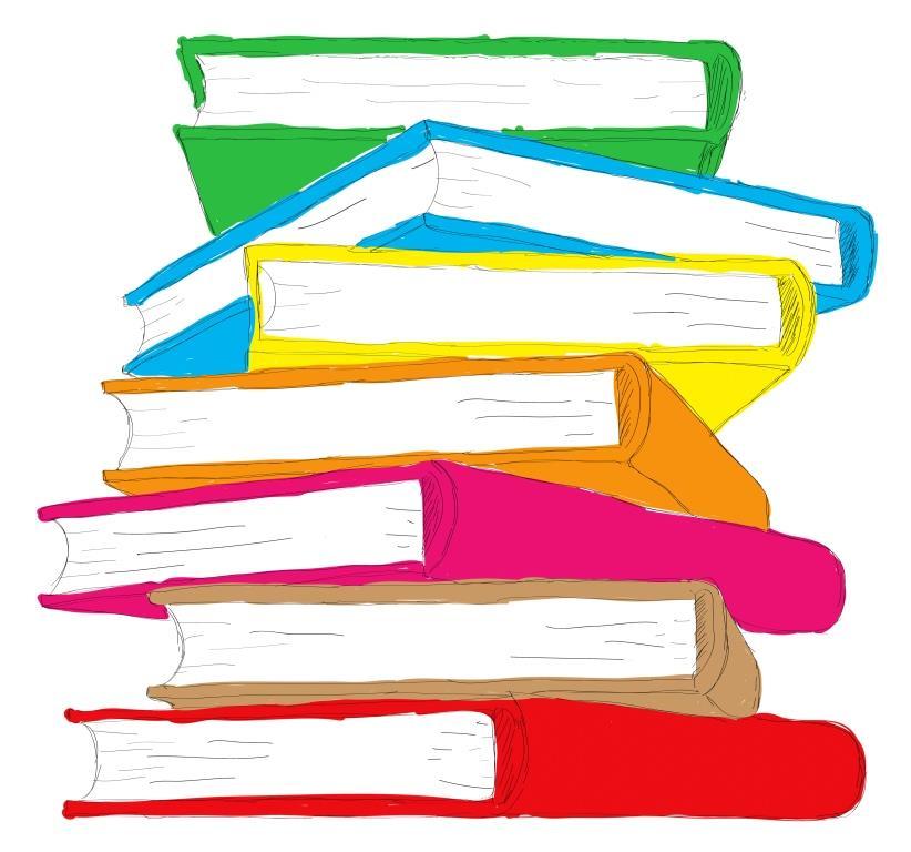 Bøger på biblioteket