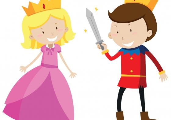 prinser og prinsesser