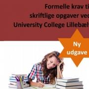 Formelle krav til skriftlige opgaver i UCL